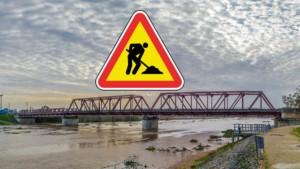 Condicionamento de trânsito nas pontes de Coruche